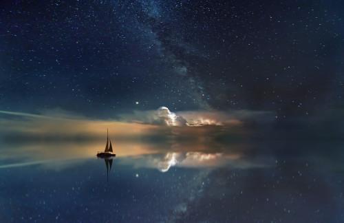 Der Milchstraße kann man im Nordosten einfach näher sein - weil man sie sieht!