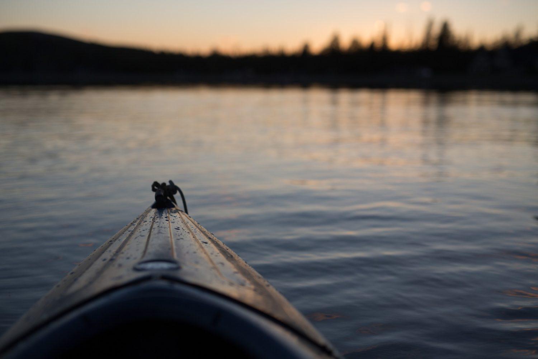 Kanu in der Peene